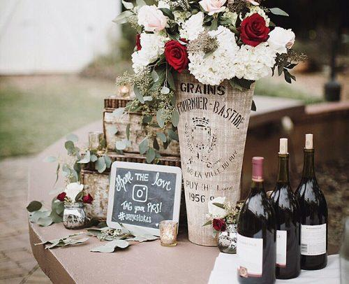 wedding alcohol calculator wedding reception wine flowers design