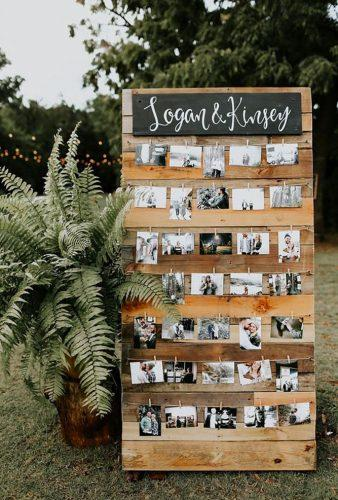 wedding backdrop ideas pallete with photo Melissa Marshall