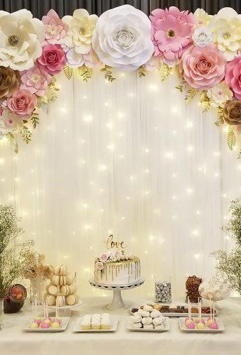 wedding backdrop ideas soft light backdrop madebyjesslee