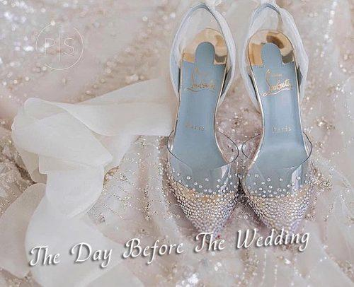 wedding checklist wedding shoes 1 day before wedding
