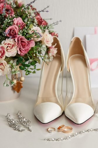 wedding checklist wedding shoes bouquet
