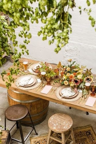 wedding trends eco friendly wedding decor