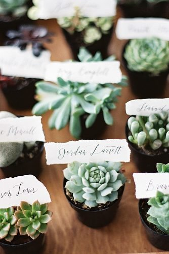 wedding trends succulent favors eco friendly wedding