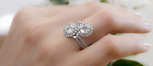 zodiac engagement rings hand with ring diamond featured