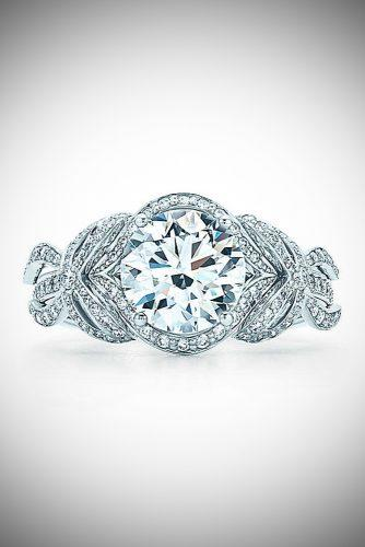 zodiac engagement rings tiffany bow ribbon ring leo