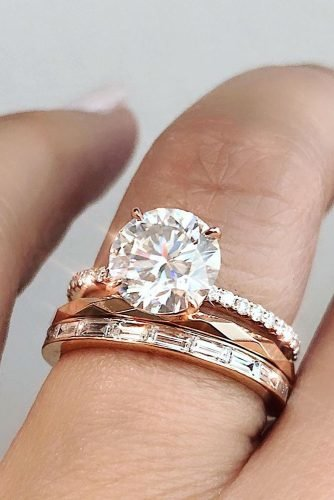 30 Rose Gold Wedding Rings You Ll Fall In Love Wedding Forward