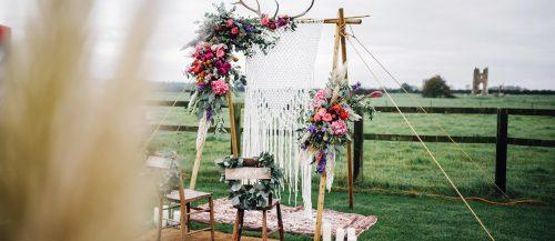 Trendy Bohemian Wedding Decorations