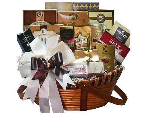 bridal shower gifts chocolate treasures gift basket