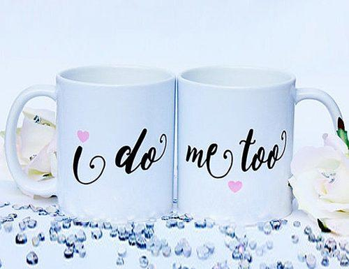 bridal shower gifts i do me too mugs