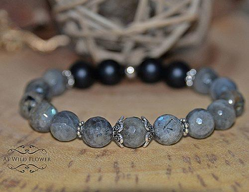 bridal shower gifts labradorite bracelet