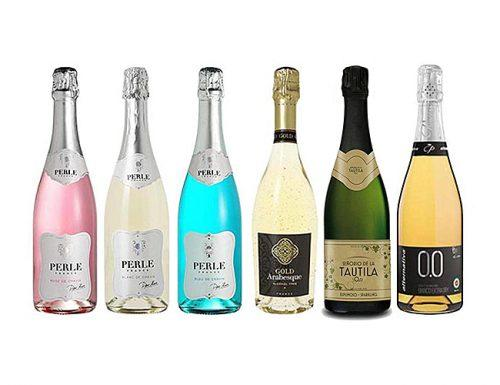 bridal shower gifts non alcohol sparkling wine set