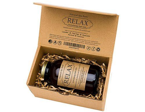 bridal shower gifts relax bath salt