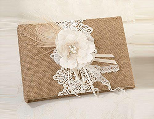 bridal shower gifts vintage lace guest book