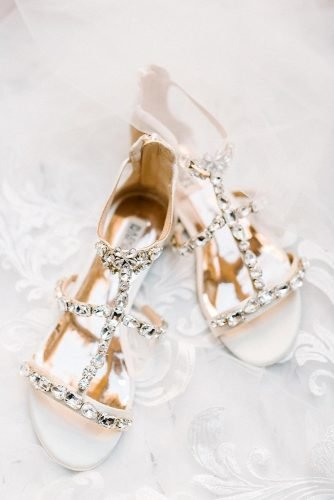 comfortable wedding shoes sparkle sandals badgley mishka