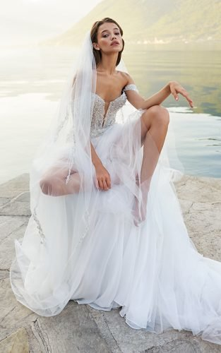 most pinned wedding dresses featured