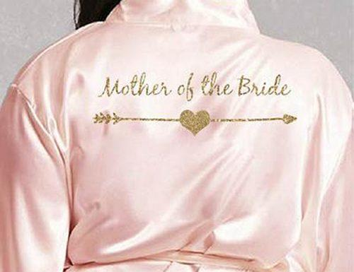 mother of the bride gifts arrow robe
