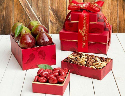 mother of the bride gifts fruits gift
