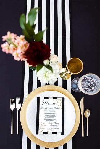 nautical wedding decor ideas black white seating place megan robinson
