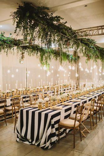 nautical wedding decor ideas light reception Raquel Benito Photography