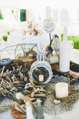 nautical wedding decor ideas simple decor ideas Carina Skrobecki