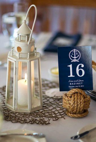 nautical wedding decor ideas table centerpiece knoticalove