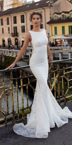 tarik ediz wedding dresses mermaid simple 2019