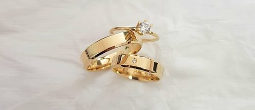 top engagement ring ideas simple gold ring wedding bands set