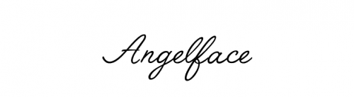 wedding fonts Angelface