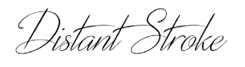 wedding fonts distant stroke