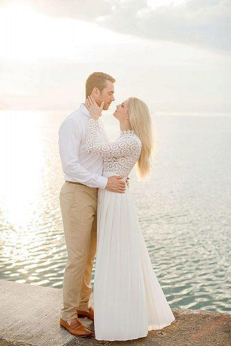 wedding photographers couple romantic near the sea olivialeighweddings