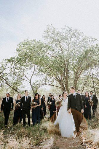 wedding photographers outdoor wedding newlyweds and guests brandonharwellphoto