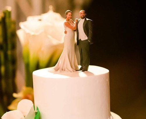 wedding tech trend 3d printed cake topper