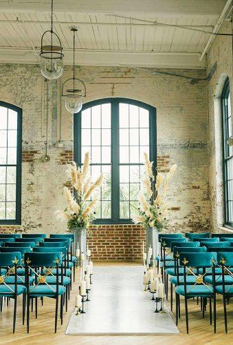 whimsical wedding decor ideas aisle decor annerhettphotography