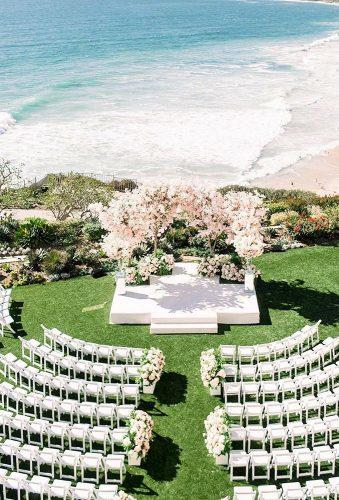whimsical wedding decor ideas beach aisle the grovers
