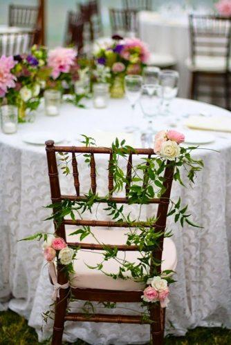 whimsical wedding decor ideas chair decor Sebesta Design