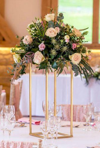 whimsical wedding decor ideas floral center piece Louise Bowles