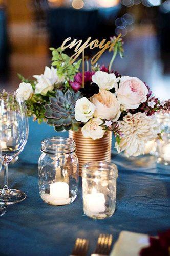 whimsical wedding decor ideas flower centerpiece BetterWeddingDecor
