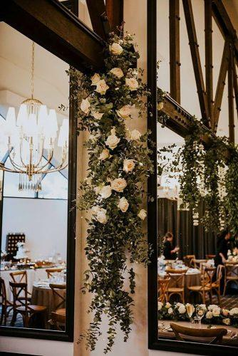 whimsical wedding decor ideas flower reception details Alex Jackson Photography