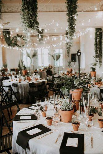whimsical wedding decor ideas indoor reception decor Linda Lauva