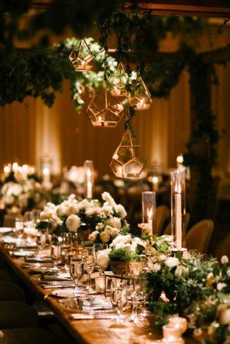 whimsical wedding decor ideas light reception Josh Elliott Photography