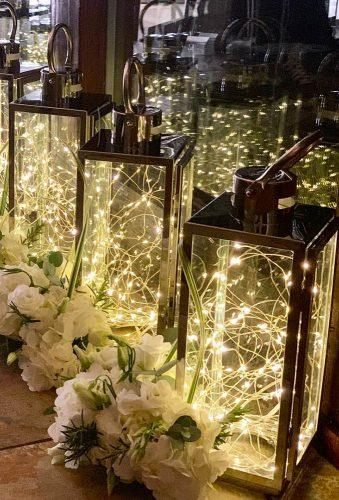 whimsical wedding decor ideas lighting lantern eventstylingco