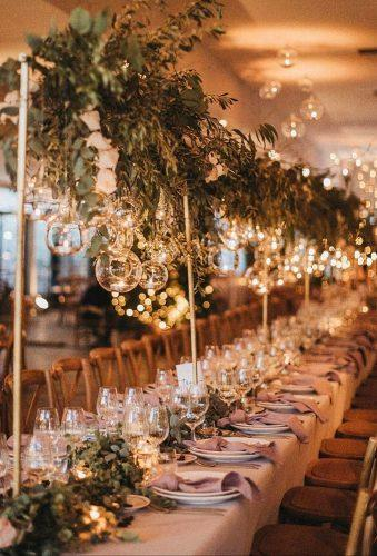 whimsical wedding decor ideas simple greenery decor serafin castillo