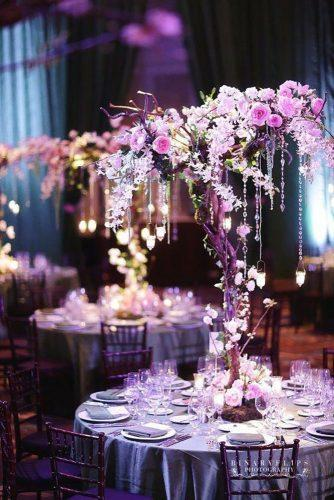 whimsical wedding decor ideas tree centerpiece binaryflips photography