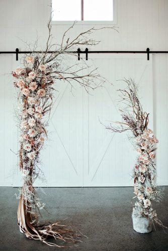 whimsical wedding decor ideas wedding arch Ivy Road Photography