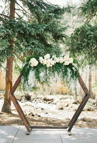 whimsical wedding wedding arch Tara Bielecki Photography