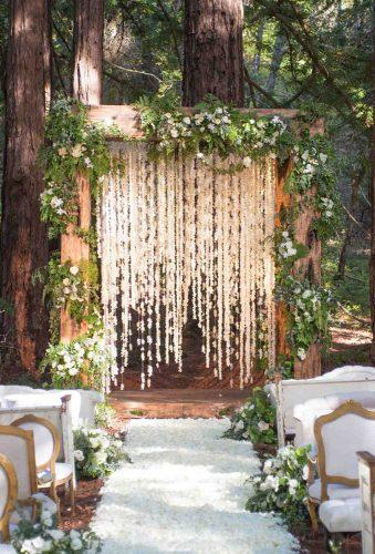 whimsical wedding wedding arch sylvie gil photography