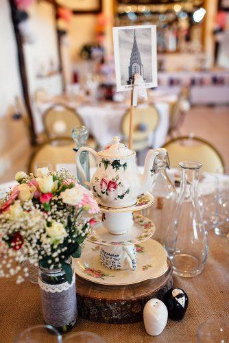 whimsical wedding wedding centerpiece Freckle Photography