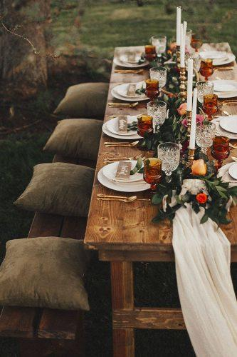 boho wedding trends boho table decor linoandco