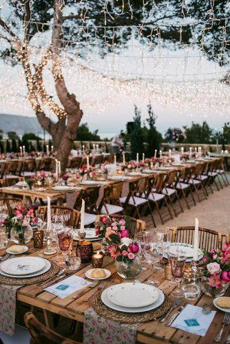 boho wedding trends evening lighting Sara Lobla Photography