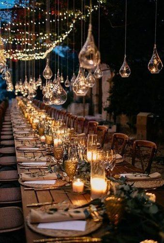 boho wedding trends light table decor abrahamgarciaphotography